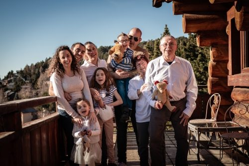 Séance photo famille lifestyle à Font Romeu